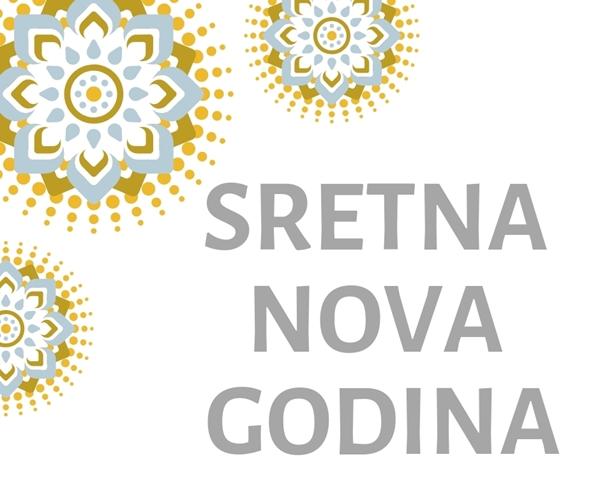 Picture of Natpis 'Sretna Nova Godina'' - Srebrni_102304_102304_102304_102304_102304_102304