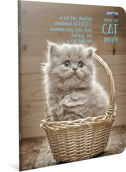 Slika od Bilježnica A4 Cat kocke