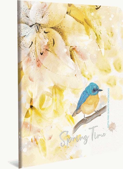 Picture of Bilježnica A4 Spring time kocke