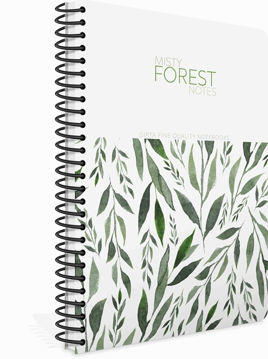 Picture of Spiralna bilježnica A4 Forest kocke