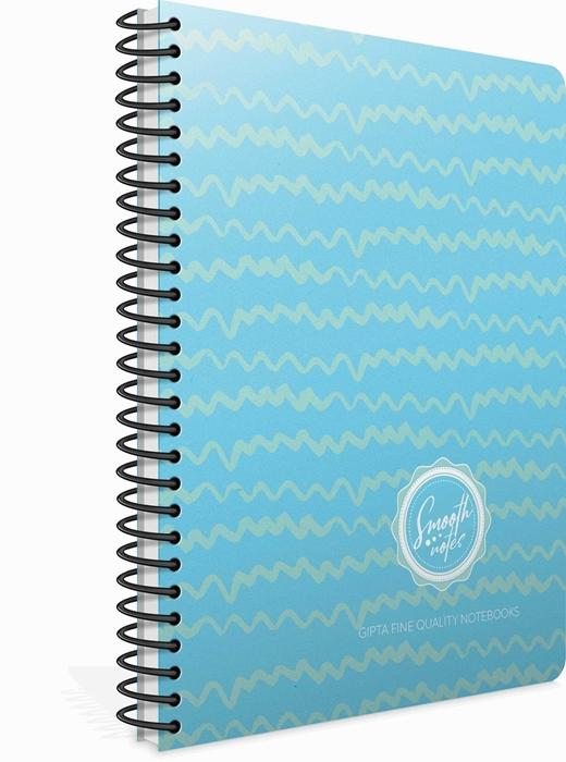 Picture of Spiralna bilježnica Smooth kocke