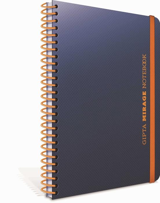 Slika od Spiralna bilježnica A4 Mirage crte