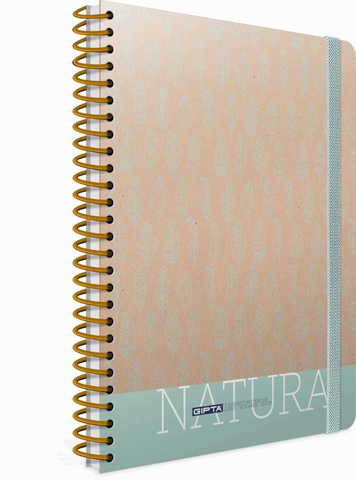 Slika od Spiralna bilježnica Natura crte