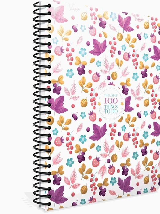 Slika od Spiralna bilježnica100 things kocke