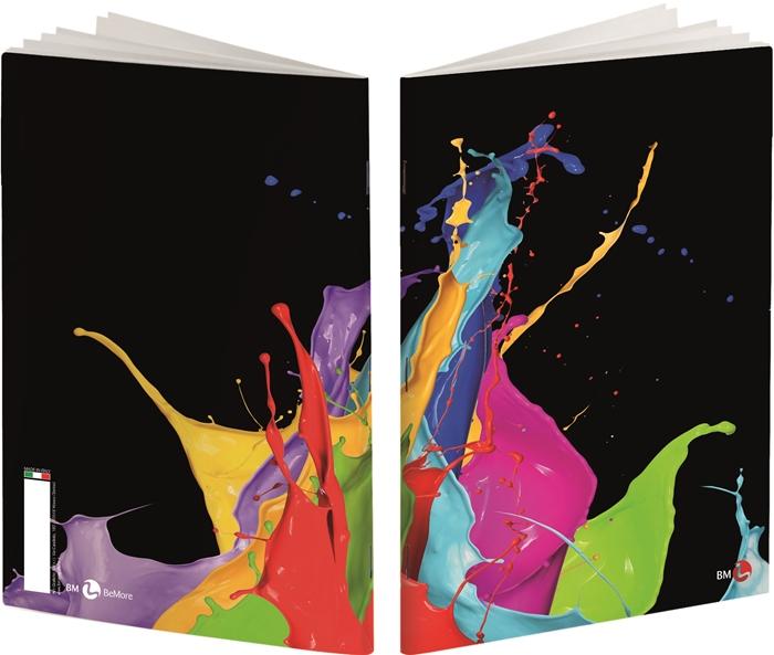 Slika od ARCOBALENO bilježnica A4 kocke