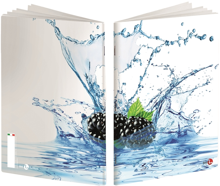 Picture of Bilježnica BEmore aqua - kocke