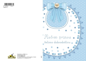 Picture of Čestitka - Malom princu