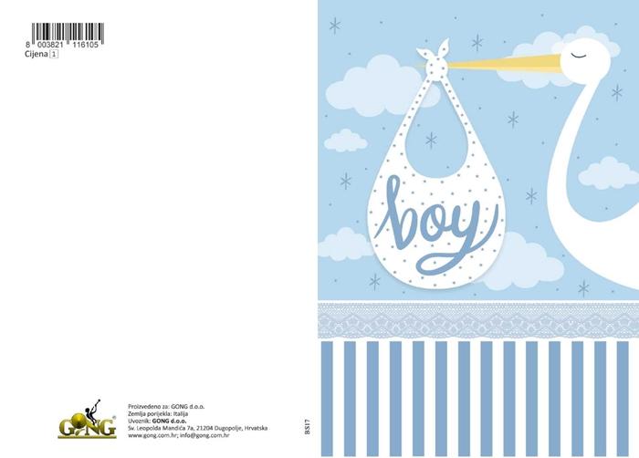 Slika od Čestitka - Boy