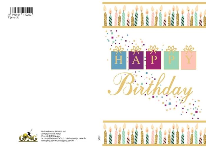 Slika od Čestitka - Happy birthday