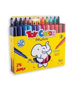 Picture of TOY COLOR JUMBO superwashable Color Pen 1-24