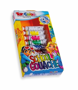 Picture of TOY COLOR tempera colors 7,5 ml 1-7