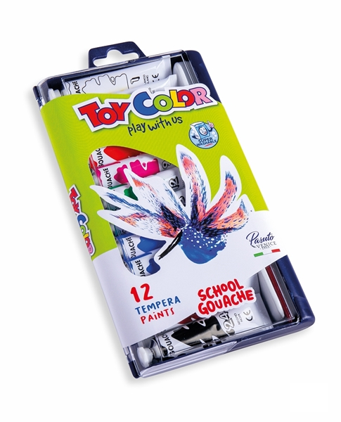 Picture of TOY COLOR tempera boje 12 ml - 1/12