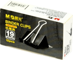 Picture of Metal black Binder Clips