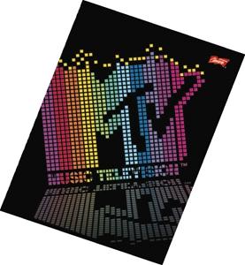 Picture of MTV bilježnica A4 - kocke