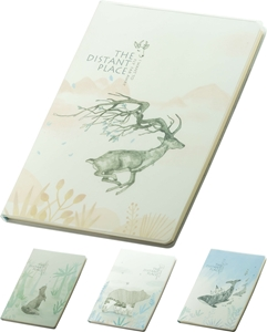 Picture of Distant place notebook B5 - lines