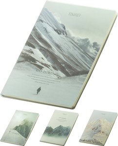 Picture of Go hiking notebook B5 - lines
