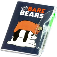 Picture of Blok s olovkom Bears A6