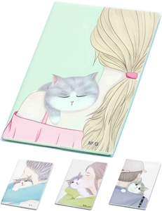 Picture of Cat notebook B5 - lines