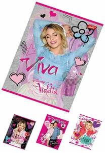 Slika od Violetta bilježnica A4 - kocke