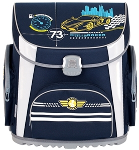 Picture of TIGER PRIME school bag car 36x23x39 cm