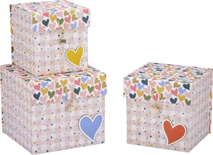 Slika od Set poklon kutija Hearts